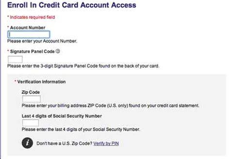 www.myaccountaccess.com   MyAccountAccess Credit Card ...