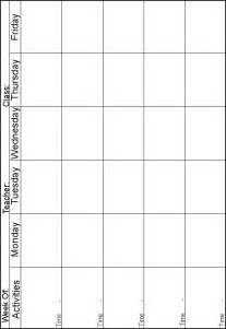 www.preschoolprintables.com / Lesson Plans. 5 day a week ...