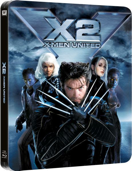 X Men 2   Limited Edition Steelbook Blu ray | Zavvi.com