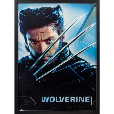 X Men 2 Original Wolverine Character Poster Signed by Hugh ...