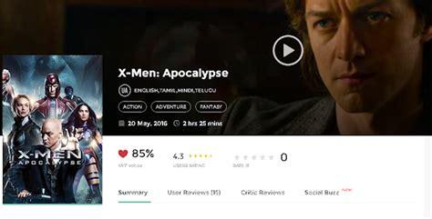 X Men Apocalypse 2016 Hindi Dubbed Full Movie 700MB 300MB ...