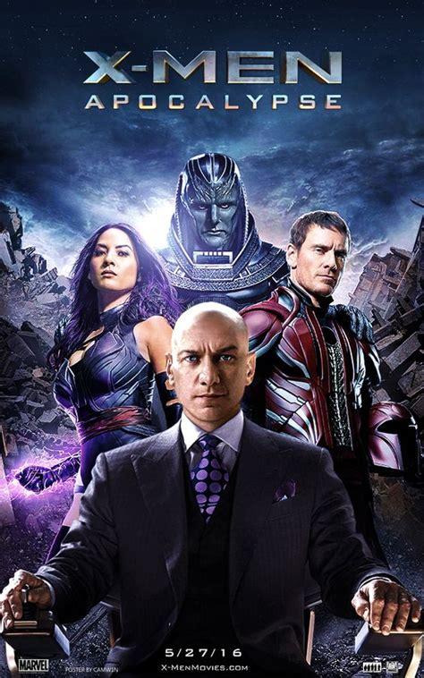 X Men: Apocalypse  2016    Poster by CAMW1N   X Men ...