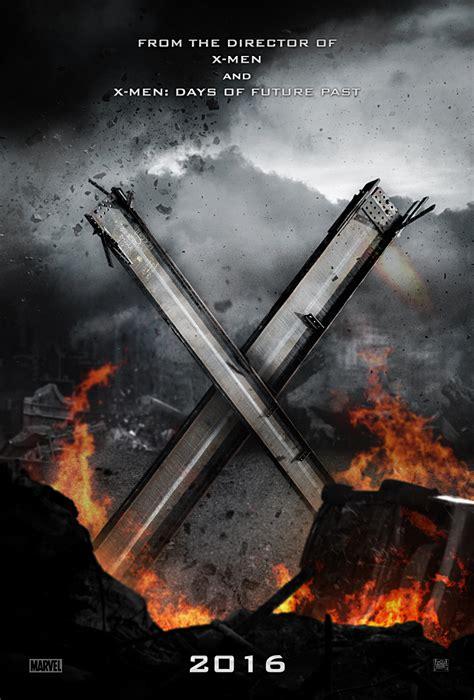 X Men: Apocalypse  3D+2D Blu ray SteelBook   HMV Exclusive ...