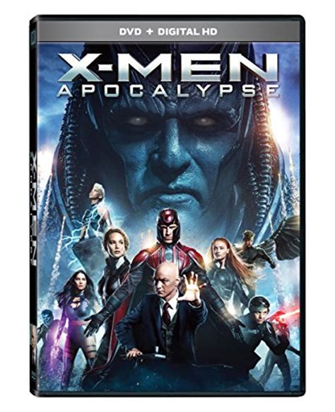 X-Men Apocalypse dvd cover (2016) R2 Nordic