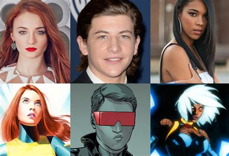 X Men: Apocalypse ya tiene actores para Storm, Cyclops y Jean