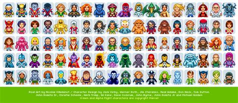 X-Men Characters - part II @ PixelJoint.com