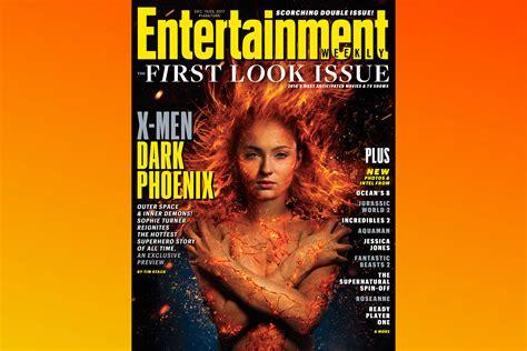 X Men: Dark Phoenix heats up EW s First Look Issue   EW.com