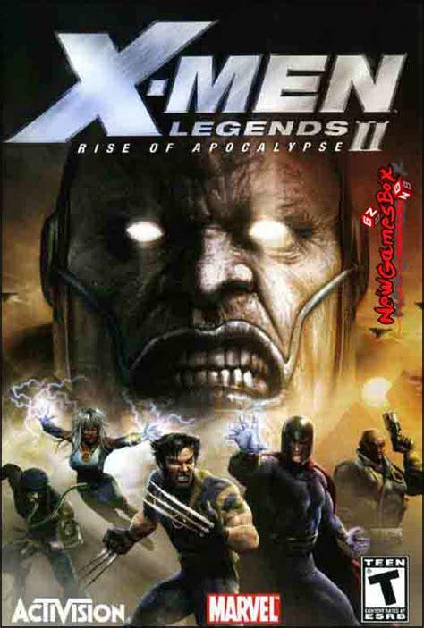 X MEN Legends II Rise of Apocalypse Free Download Full