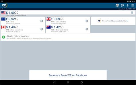 XE Currency - Aplicaciones de Android en Google Play