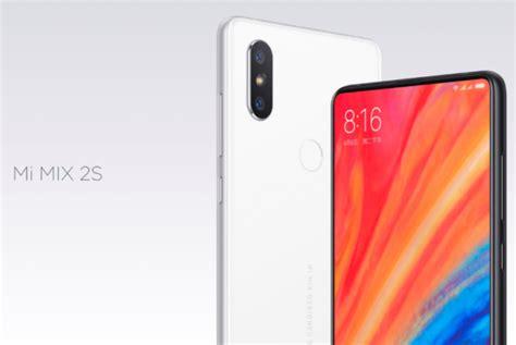 Xiaomi presentó su nuevo flagship, el Mi Mix 2S - RedUSERS