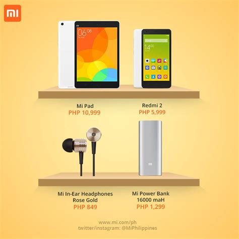 Xiaomi products now available in Cebu stores - MyCebu.ph ...