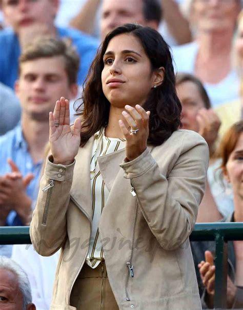 Xisca acompañó a Rafa Nadal a Wimbledon
