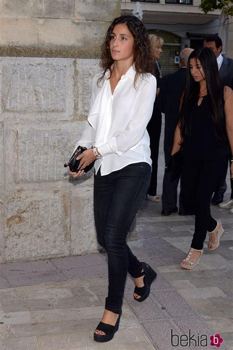 Xisca Perelló en el funeral del abuelo de Rafa Nadal ...