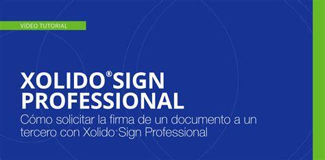 Xolido®Sign Professional - Servicio web para el envío y ...