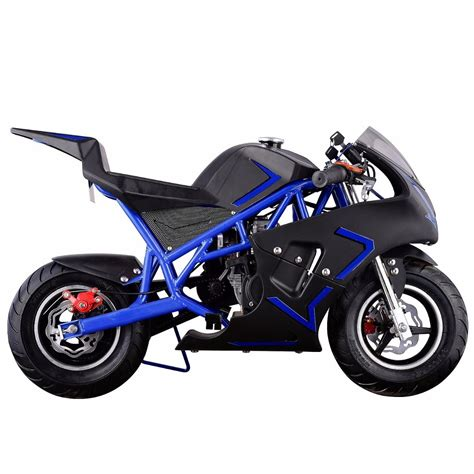 XtremepowerUS Gas Pocket Bike motorbike Scooter 40cc Epa ...