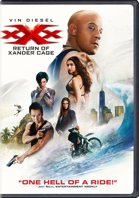 xXx: Return of Xander Cage DVD Release Date May 16, 2017