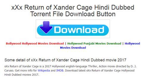 XXX: Return of Xander Cage movie free download online ...