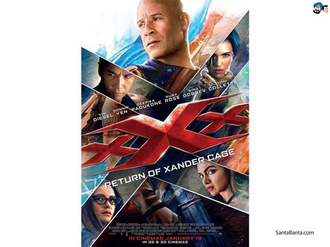 xXx The Return of Xander Cage Movie Wallpaper #7