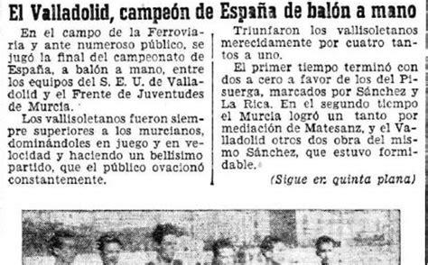 Y el campeón de España es... Valladolid   El Norte de Castilla