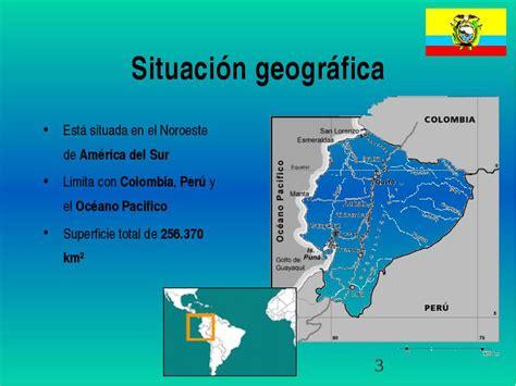 Y las Islas Galápagos ecuador situación geográfica