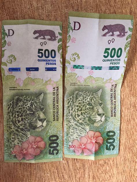 Ya circulan los billetes de $ 500 falsos   Cotización Dólar