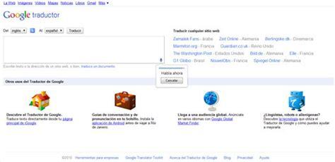 Ya puedes traducir voz en Google Translate