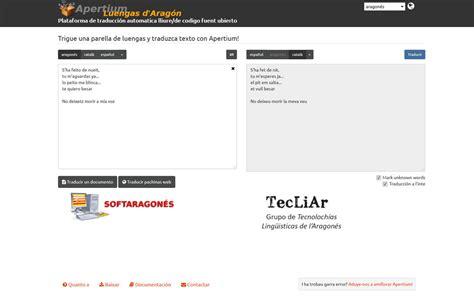 Ya ye online la primer web de traducción automatica entre ...