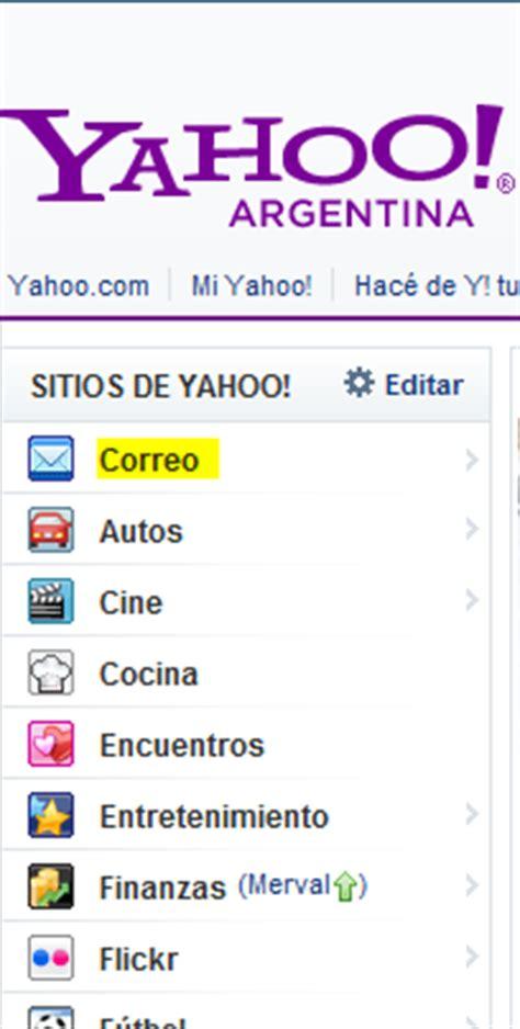 Yahoo en Crear Cuenta