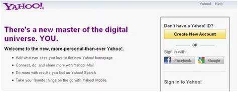 Yahoo permite acceder a sus servicios con cuentas de ...