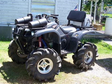 yamaha four wheelers mud | Yamaha Grizzly 660, Lifted ...