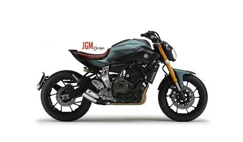 Yamaha MT07 cafe racer vision #JGMdesign | Transportation ...