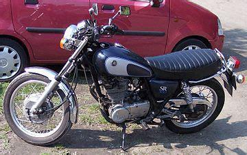 Yamaha SR 250   Wikipedia, la enciclopedia libre