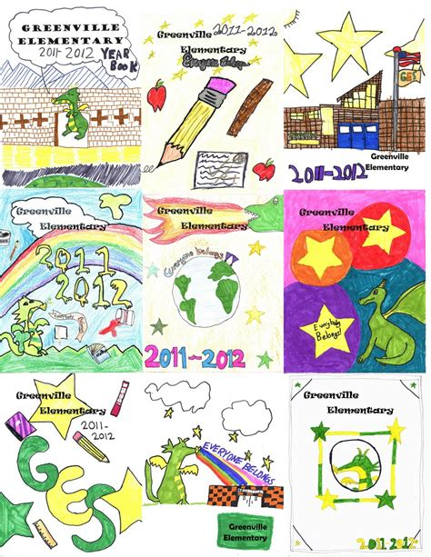 Yearbook Cover Ideas Elementary School They all did a ...