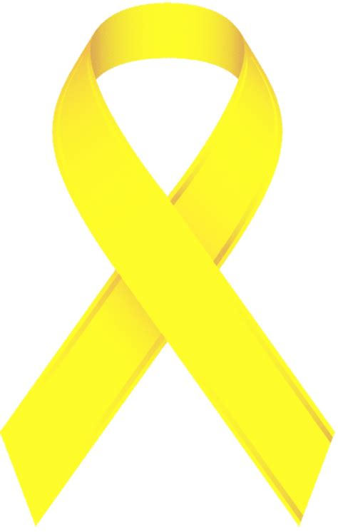 Yellow Support Ribbon Clip Art (13+)
