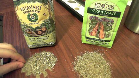 Yerba Mate Guayaki vs Eco Teas Best Tea Review and ...