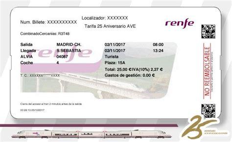 Yo logré comprar un billete de 25 euros de Renfe | El ...