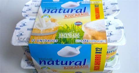 Yogur natural azucarado HACENDADO ::: El Blog de las ...