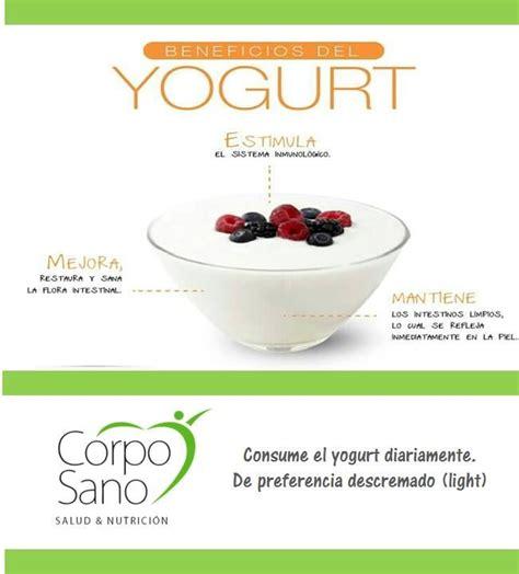 yogurt y sus beneficios   Nutrición   Pinterest
