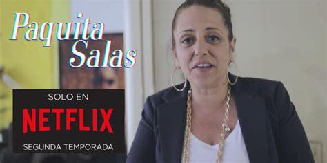 Yolanda Ramos estará en la 2a temporada de 'Paquita Salas ...