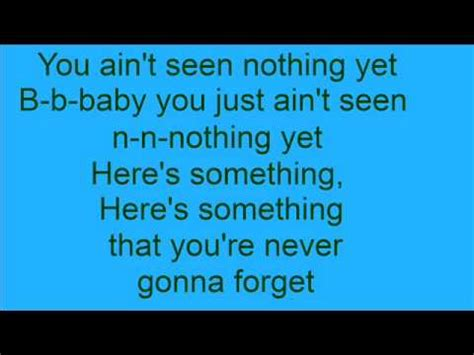 You Ain't Seen Nothing Yet by Bachman-Turner Overdrive ...