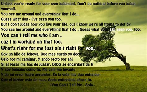 You Can't Tell Me- Soja | Song lyrics | Pinterest | Songs