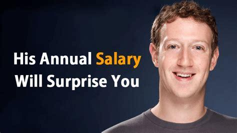 You Won't Believe How Much Salary Mark Zuckerberg Earns In ...