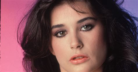 Young Celebrity Photo Gallery: Young Demi Moore Photos