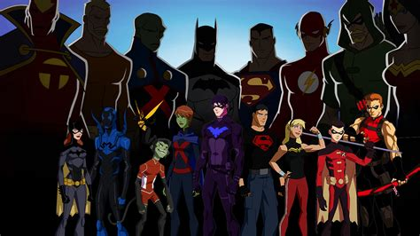 Young Justice Full HD Wallpaper and Background Image ...