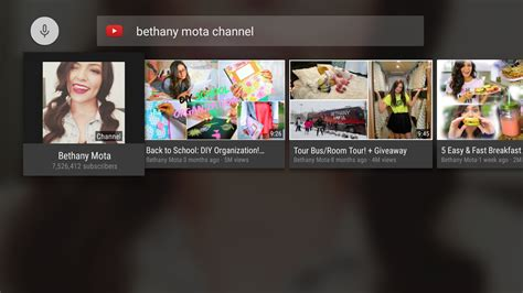 YouTube for Android TV 1.3.11 APK Download   Android ...