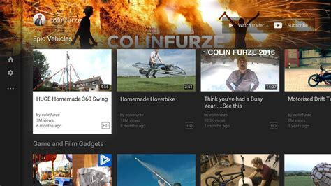 YouTube for Android TV APK Download   Free Entertainment ...