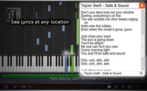 YouTube Lyrics Extension, pon letra a cualquier vídeo ...