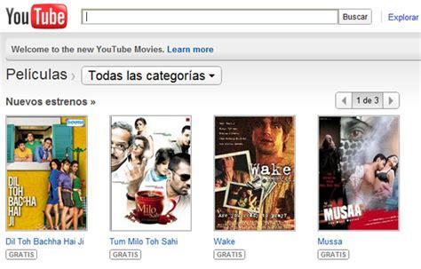 YouTube Movies, las últimas películas gratis que puedes ...