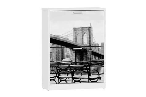 Zapatero de 2 Puertas abatibles Puente NY