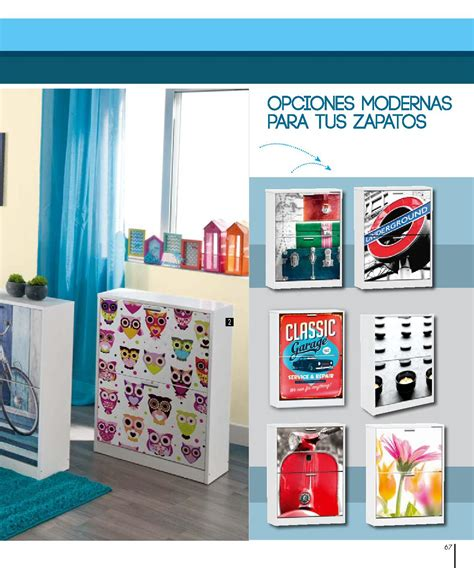 Zapateros Conforama: nuevo catálogo 2017 | Galeriamuebles